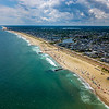 Aerial View Of Ocean Grove Beach 6/30/20