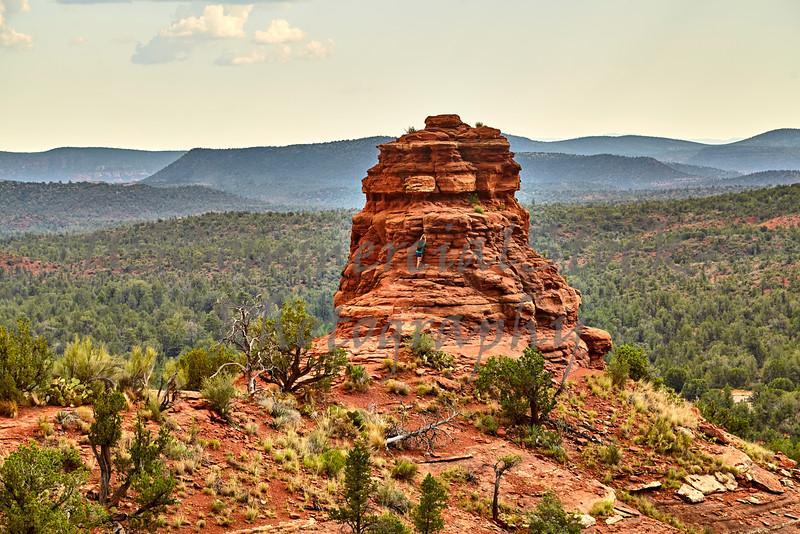 Kachina rock Formation in Sedona Arizona