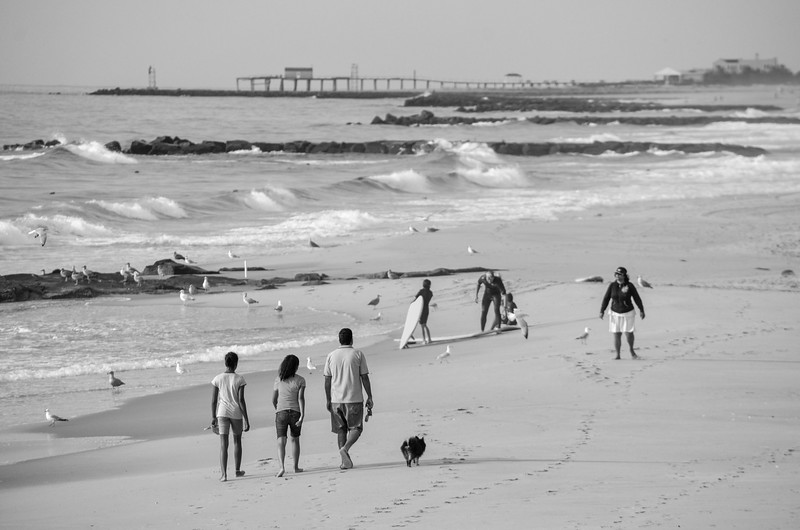 Beach Scene, Ocean Grove, NJ