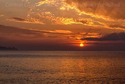 Rising Sun, Goleta Beach 1