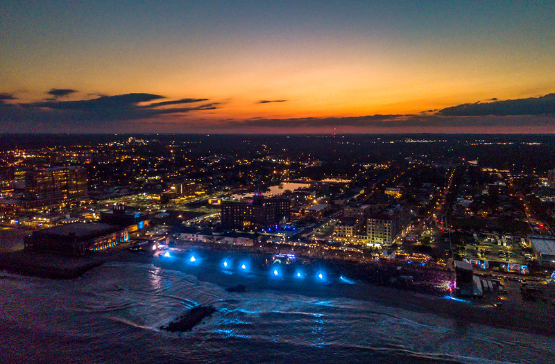 Sunset Over The Sea Hear Now Festival in Asbury Park 9/29/18