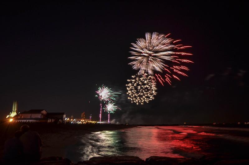 Firework Reflection, Ocean Grove, NJ