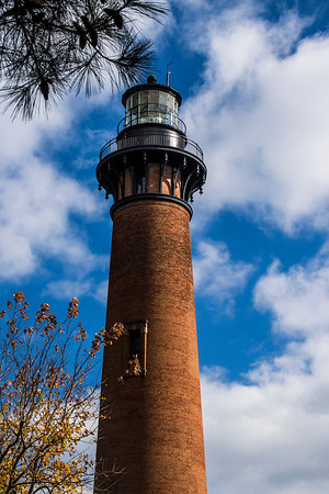 Currituck Beach Lighthouse in Corolla North Carolina