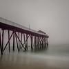 Foggy Morning at Pier, Belmar, NJ