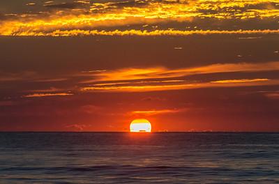 Island Beach State Park Sunrise 8/26/18