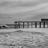 Rough Seas at Belmar Pier 3/3/18