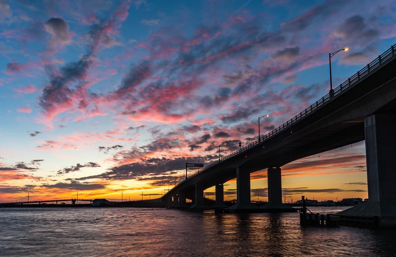 Predawn Colors Over The Highland Bridge 10/5/17