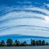 Clouds Arching Across the Sky, Belmar, NJ