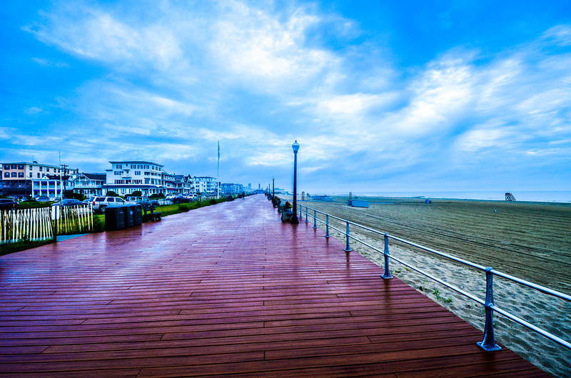 Wet Boardwalk, Ocean Grove, NJ
