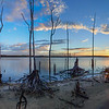 Sunrise Panorama at Manasquan Reservoir, Howell, NJ