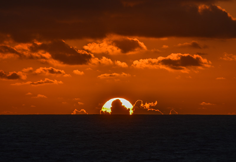 Cloudy Sunrise, Caribbean