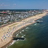 An Aerial View Of Ocean Grove Beach Looking North To Asbury Park 8/25/21