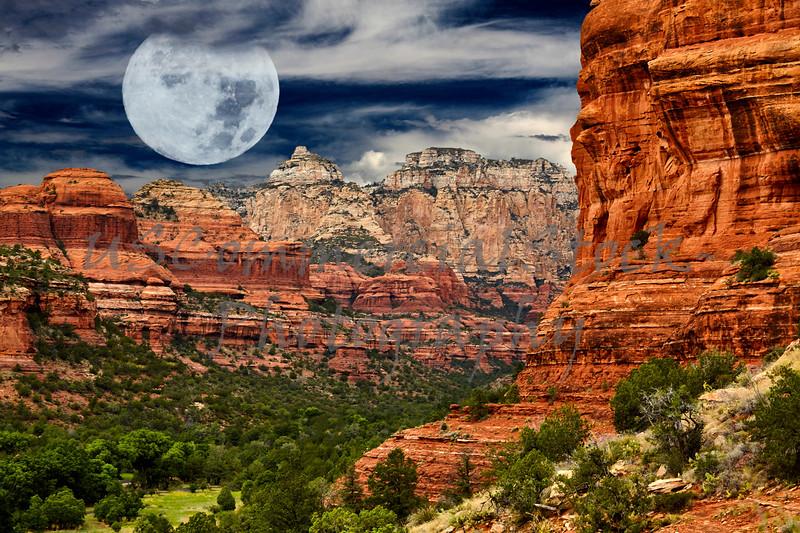 Mountains in Boynton Canyon Sedona Arizona