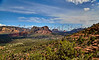 Scenic Overlook of Sedona Arizona with Bell Rock
