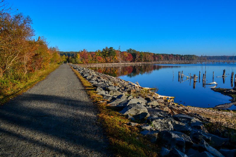 Autumn Colors at Manasquan Reservoir