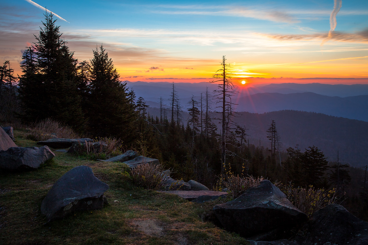Sunrise at Clingman's Dome, Great Smokey Mountains National Park