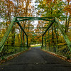 Autumn Colors Over Truss Bridge 11/1/18
