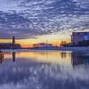 Sunrise on Wesley Lake, Asbury Park, NJ