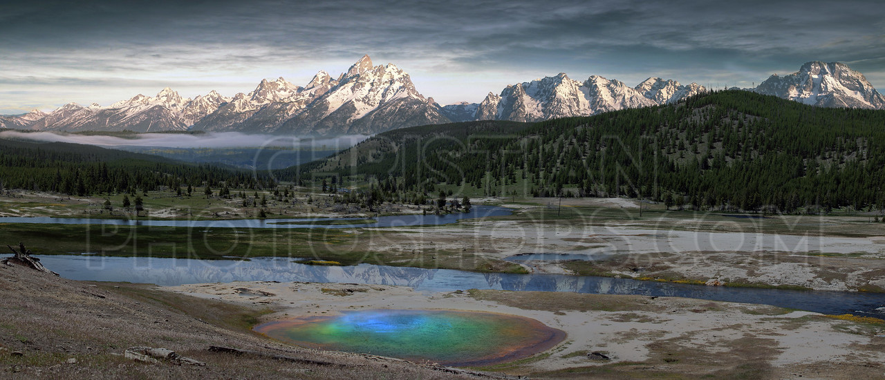 Geyser at Yellowstone