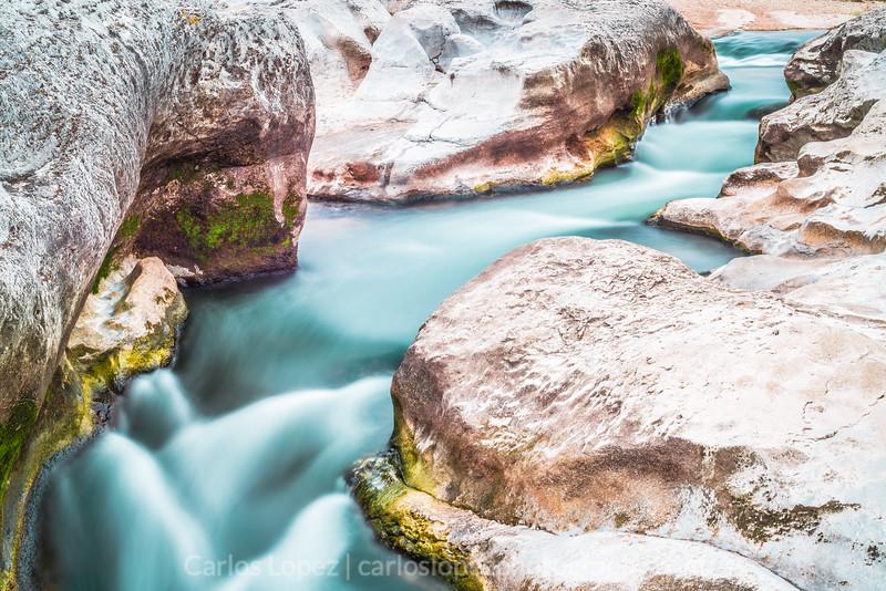 Water flow at Pedernales
