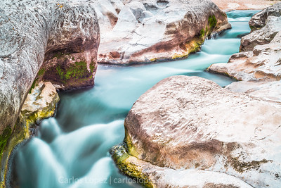 Water flow at Pedernales