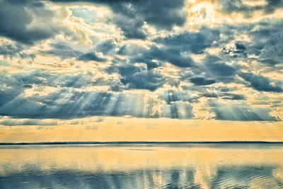 "ETC-3216  ""Sun Rays Over the Lake"""