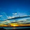 Sunset Over Raritan Bay, NJ 3/11/16