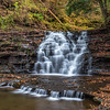 A Waterfall in Salt Springs State Park, PA 10/15/17