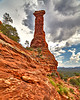 Kachina rock Formation in Sedona Arizona