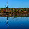 Autumn Colors Panorama at Manasquan Reservoir