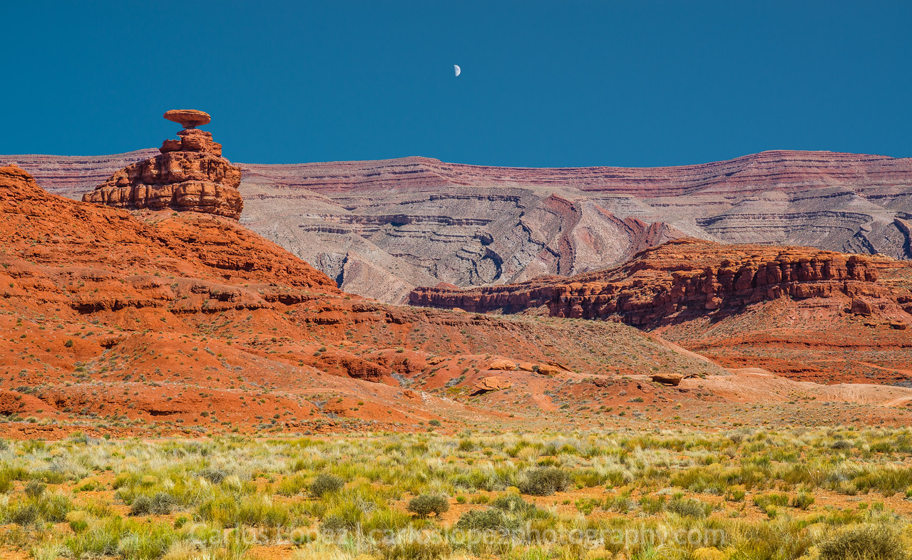 Mexican Hat Moon