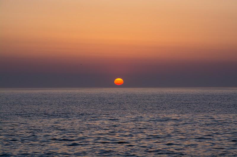 Sunrise Over Ocean 5/12/16