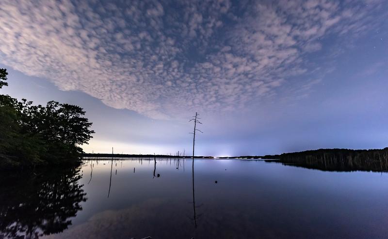 A Night Scene at Manasquan Reservoir 7/29/21