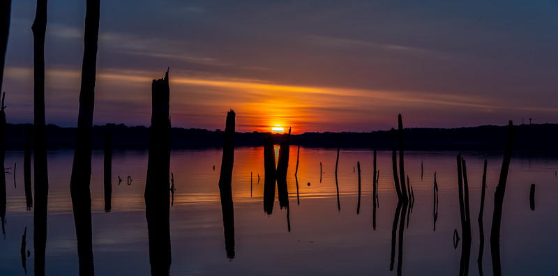 Sunrise Over Manasquan Reservoir 9/24/20
