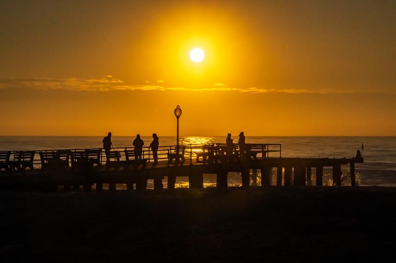Sunrise Over The Ocean Grove Pier 4/5/20