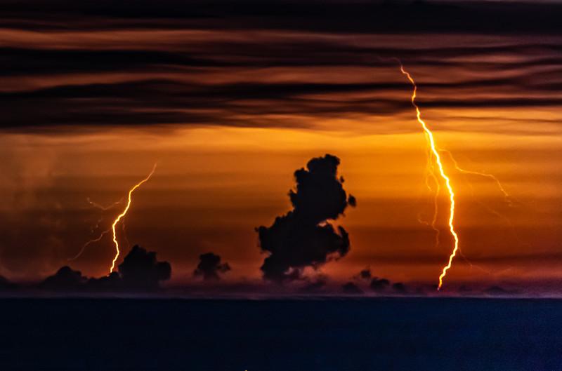 Lightning Strike Over The Ocean 7/29/20
