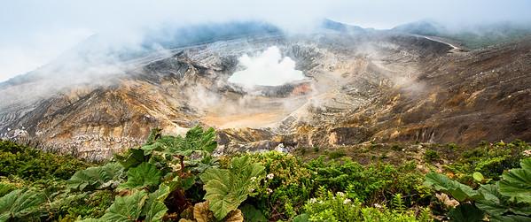 Volcán Poás Costa Rica