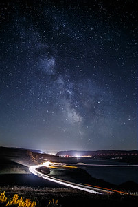Milky Way over Vantage Bridge