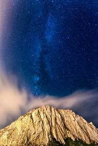 Morro Rock and the Milky Way II.
