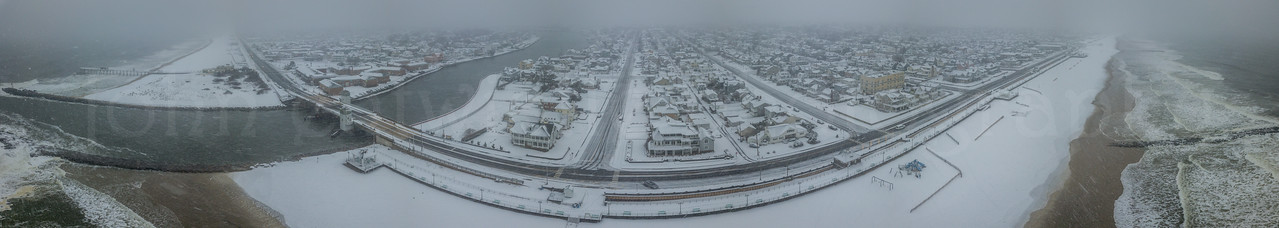 Snowy Scene at the Jersey Shore 3/13/18