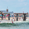 Ocean Grove Beach & Pier with Asbury Park 6/21/17