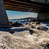 Icy Stream at Manasquan Reservoir 3/15/17