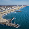 Aerial View of Avon-By-The-Sea Looking North to Asbury Park 1/10/18