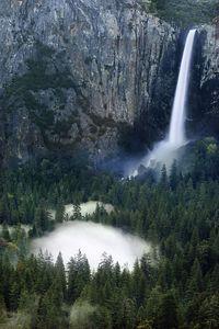 Beautiful Waterfall at Yosemite