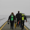 scuba divers at a breakwater - Nature Stock Image by Professional Nature Photographer Christina Craft