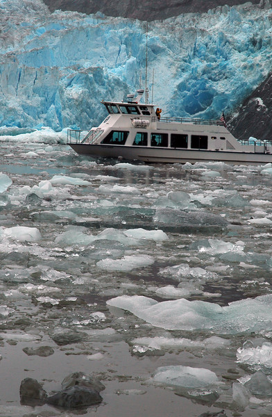 Tour into Tracy Arm Alaska - near Juneau Alaska Remote landscapes