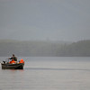 Fishing - boat with tourists in the rain - Stock Photo by Nature Photographer Christina Craft