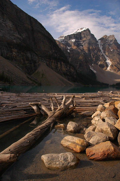 Morraine Lake Rockies - Nature Stock Image by Professional Nature Photographer Christina Craft