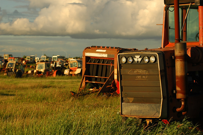 Farmland - junkyard - agriculture - Stock Photo by Nature Photographer Christina Craft
