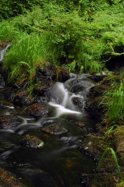water flowing in a river - Nature Stock Image by Professional Nature Photographer Christina Craft